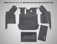 '11-Current JKU 5-pc Rear BedRug Kit