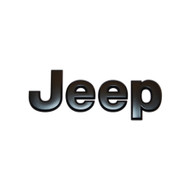 "'07-Current JK ""Jeep"" Emblem (Black)"