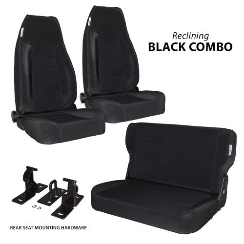 cjyj 2reclining front seats w rear