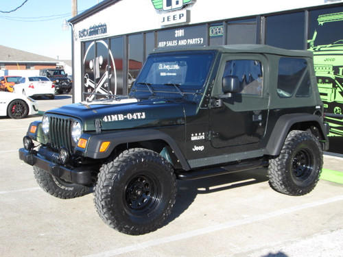 sold 2004 jeep tj wrangler willys edition stock 714386 collins bros jeep. Black Bedroom Furniture Sets. Home Design Ideas