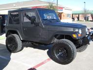 Sold 2002 TJ Wrangler Kevlar Lined Black Stock# 747455