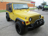 SOLD 2002 Jeep Wrangler Solar Yellow Project Jeep Stock# 706852