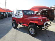 SOLD 1989 Jeep Wrangler Islander Edition Stock# 121203