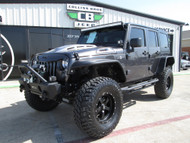2018 Jeep Wrangler JK Unlimited Sport 4x4 Black Mountain Conversion Stock #810007