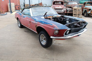1969 Ford Mustang Convertible Project Stock# 110642