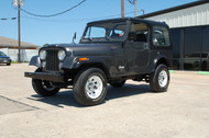 1986 Jeep CJ-7 Charcoal Grey Stock# 088641