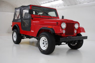 Sale Pending – 1986 Jeep CJ-7 Sebring Red  Stock# 039158
