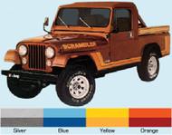 '81-'82 Scrambler CJ8 Decal Kit