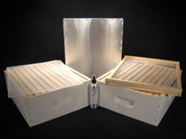 Assembled/Painted 10 frame honey season combo kit