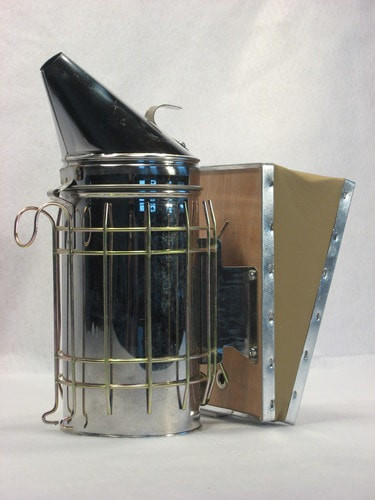 Stainless Steel Smoker with Heat Shield