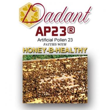 AP23 pollen patties with Honey-B-Healthy, case of 40