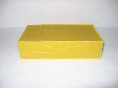Pure beeswax - 1 lb. block