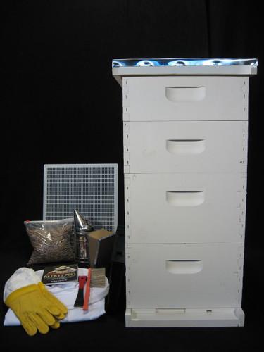 8 Frame Honey Master Colony Starter Kit Painted
