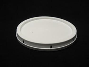 2 Gallon White Food Grade Plastic Lids