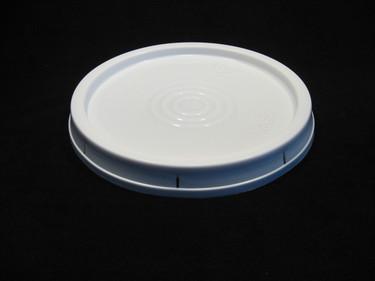 3-1/2 Gallon White Food Grade Plastic Lids