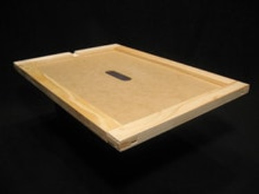 Assembled 8 frame wooden inner cover