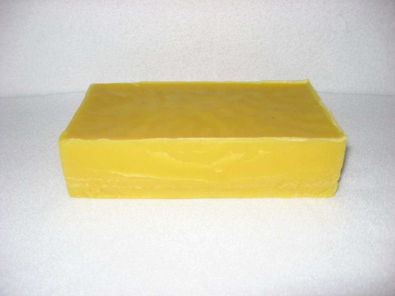 Pure beeswax - 1 lb. block