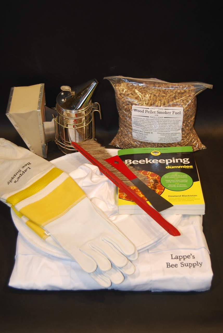 Deluxe Startup Beekeeping Clothing & Tool Kit