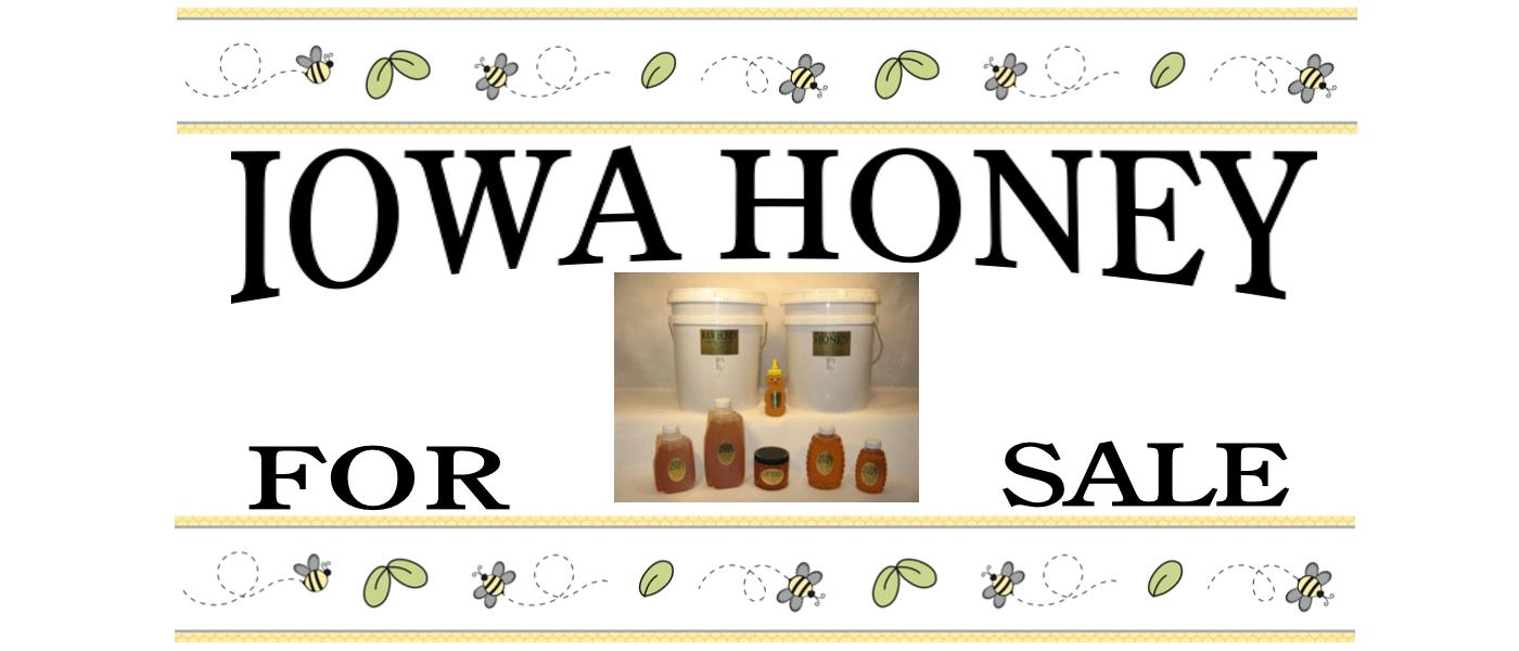 Iowa Honey for sale from Lappe's Bee Supply & Honey Farm Company