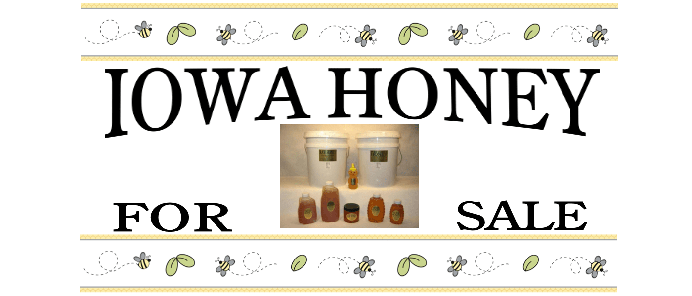 Iowa Honey for sale from Lappe's Bee Supply & Honey Farm Company