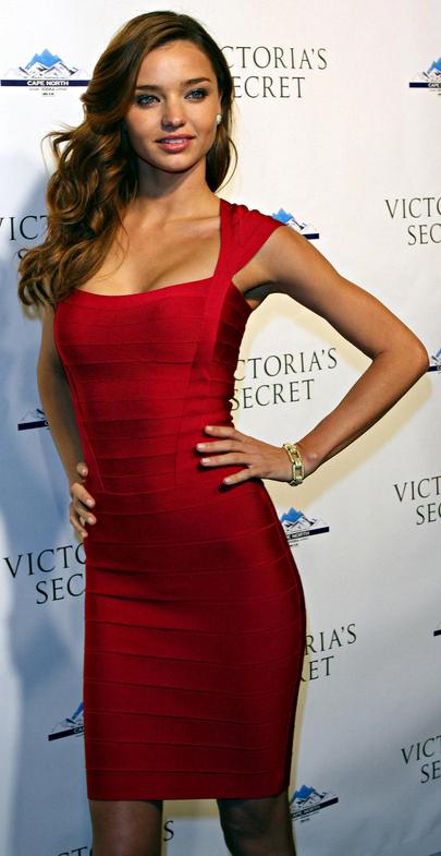 Celebrity Bandage Dress Miranda Kerr Dream It Wear It