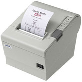 New - open box Epson TM-T88II Thermal Receipt Printer Serial M129B - Beige