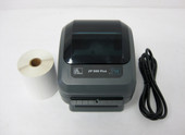 Zebra ZP500 Plus EPL ZPL Thermal Label Printer USB & Serial with 250 labels