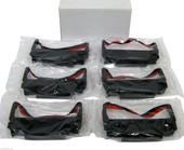 New 6 RIBBONS FIT EPSON TM-U220 TM-U200 ERC-30 BLACK RED Generic