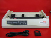 OKI ML 321 TURBO SERIAL PARALLEL PRINTER OKIDATA 321T 62411701 NO PLASTICS