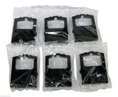 NEW 6 Black RIBBONS for OKI 420, 421, 490, 491 RIBBON Generic