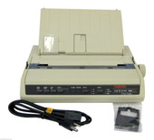 OKIdata 184 Turbo Refurb Oki Emulation OKI 184T Printer 62408901 A