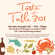4th Annual Taste of Table 301