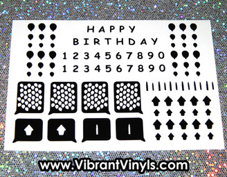 Birthday Variety Sheet