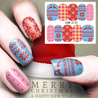 Water Slide Decals - Winter/Holiday YZW-2131