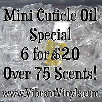 Mini Cuticle Oil Special 6 for $20