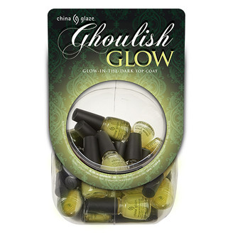 China Glaze - Ghoulish Glow - Mini Glow in the Dark Top Coat