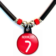 Cristiano Ronaldo #7 Portugal World Cup Jersey Necklace