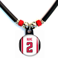 Personalized Atlanta Falcons Necklace With Name and Number NFL