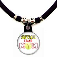 Softball grand mom necklace