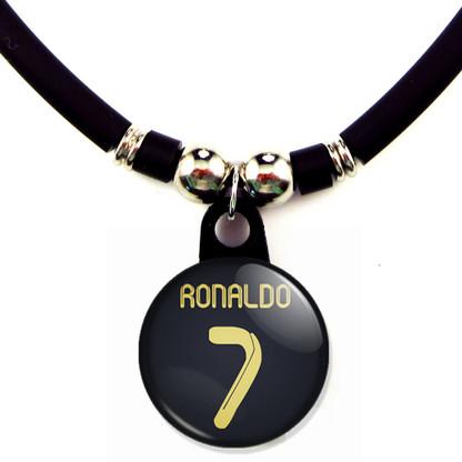 Cristiano Ronaldo #7 Real Madrid 2011-2012 Away Jersey Necklace