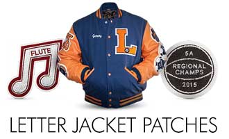 Rocky Mountain Balfour Letter Jacket Patches
