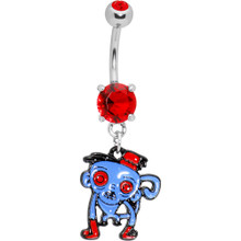 ZOMBIE BELLY RING 6
