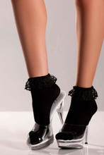 Be Wicked Ankle Socks- White
