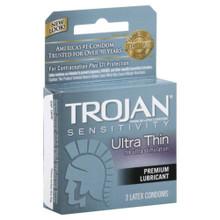 Trojan Ultra Thin Lubricated Condoms