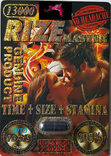 Rize Master 13000 Sexual Enhancement Pill