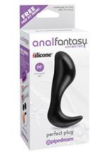 Anal Fantasy Collection Perfect Plug - Black
