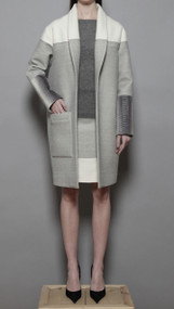 Dupont Car Coat - Punched Wool
