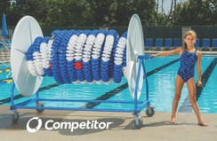 COMPETITOR LANE LINE REEL