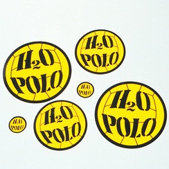 "3"" H20 POLO STICKER"