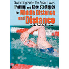 SWIMMING FASTER THE AUBURN WAY:  TRAINING & RACE STRATEGIES FOR MIDDLE DISTANCE AND DISTANCE WITH DAVID MARSH DVD VIDEO
